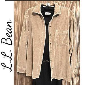 L.L. Bean Tan Jacket Size L